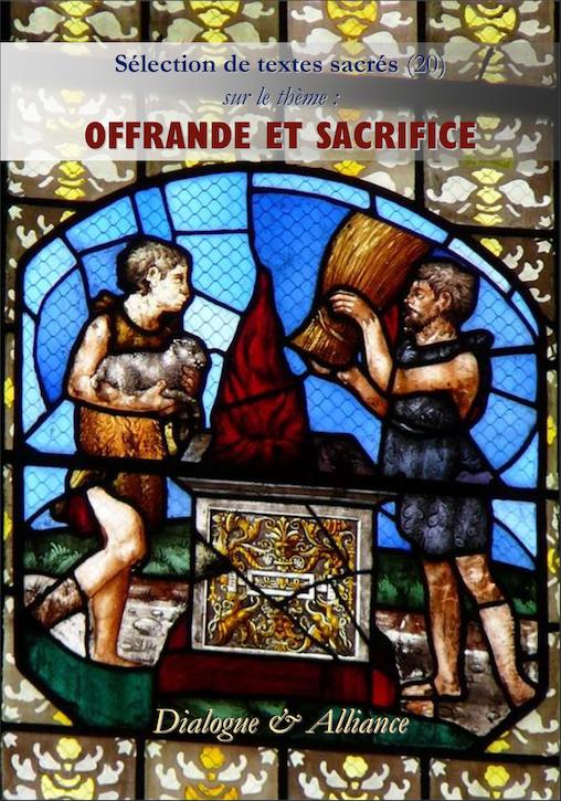 Offrande et sacrifice