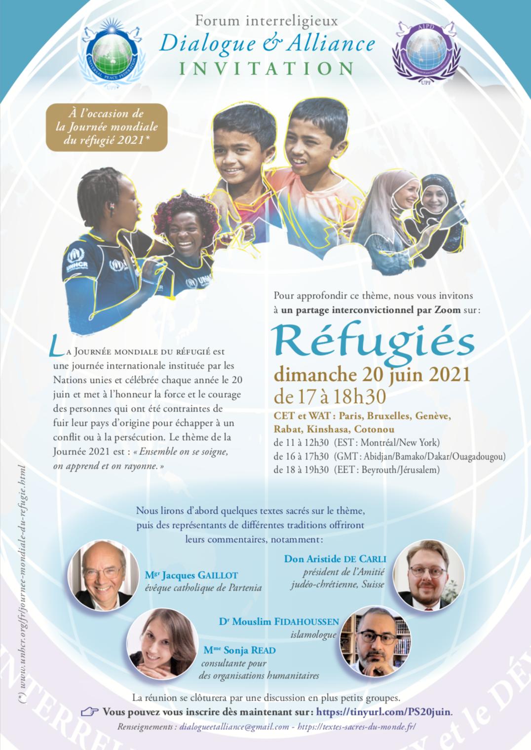 Réfugiés - Invitation