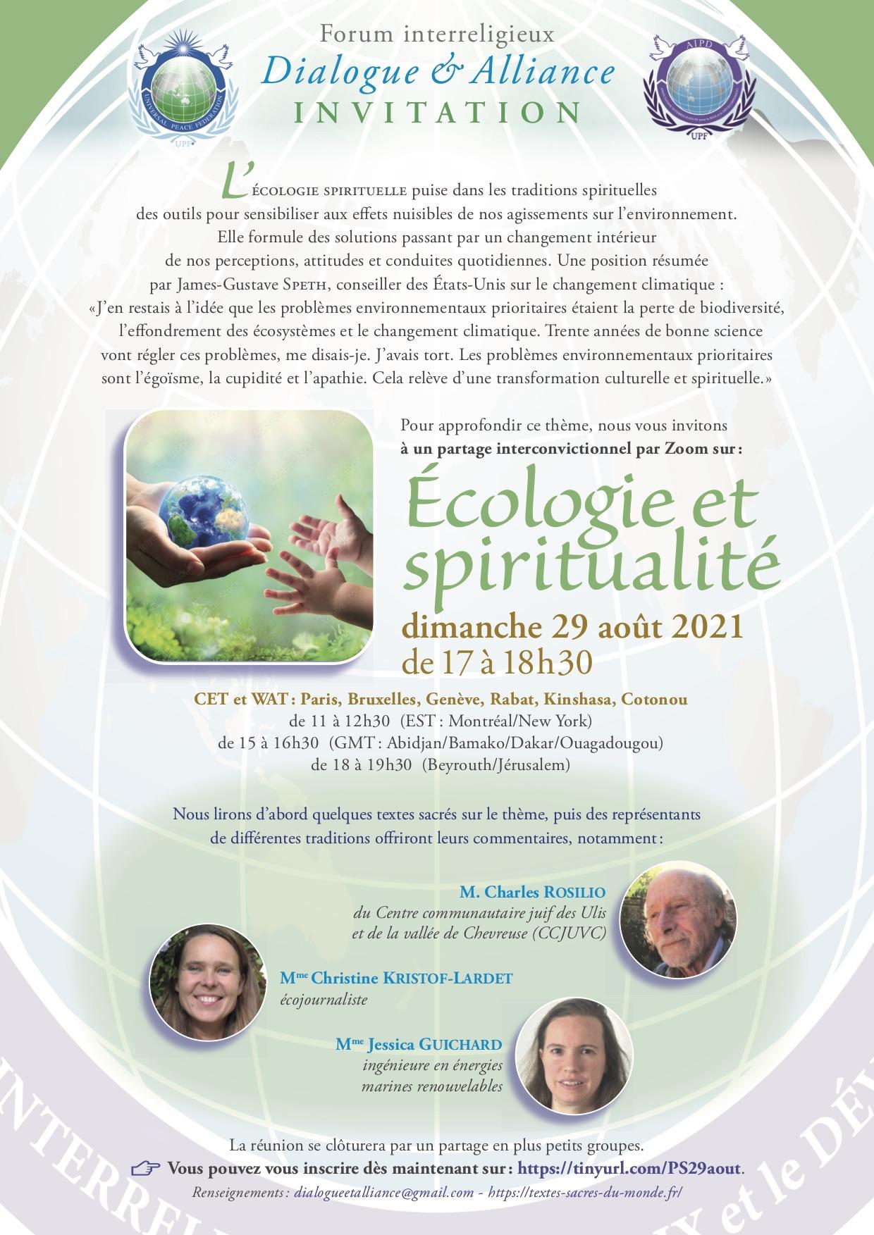 Écologie et spiritualité